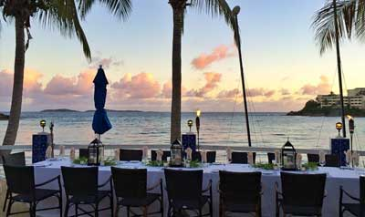 Rehearsal Dinners At St Thomas Resorts