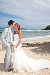 St Thomas Weddings- Barefoot on the Beach