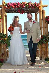 Paradise Wedding at St Thomas